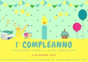 Letture-per-bambini-La-Scatol-Gialla-Libreria-Alba-Adriatica-Teramo - Eventi per bambini in Abruzzo weekend 7 - 9 dicembre