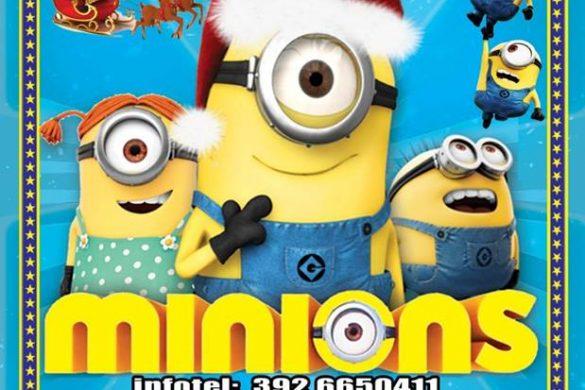 Minions-burattini-Avezzano-L'Aquila - Eventi per bambini in Abruzzo weekend 7 - 9 dicembre