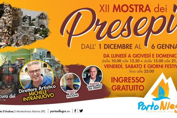 Mostra-Presepi-Porto-Allegro-Montesilvano-Pescara - Presepi Viventi e Artistici in Abruzzo
