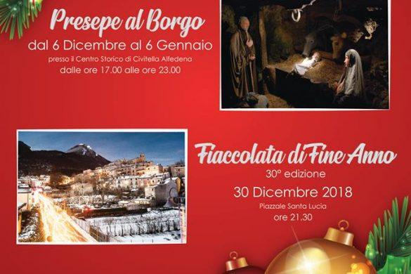 Natale-a-Civitella-Alfedena-L'Aquila - Presepi Viventi e Artistici in Abruzzo