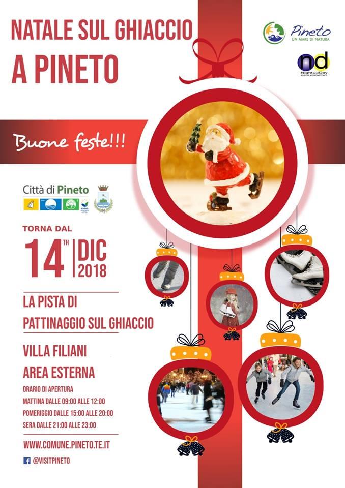 Piste di pattinaggio su ghiaccio in Abruzzo - Pineto - Teramo