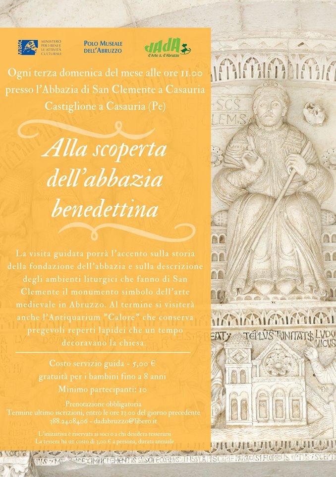 Visita guidata Abbazia San Clemente a Casuria - Pescara - Eventi DADAbruzzo