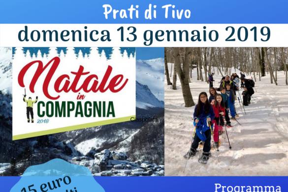 Ciaspole e Caccia-al-Tesoro - Eventi per bambini in Abruzzo weekend 12 - 13 gennaio