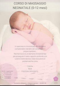 Corso di massaggio neonatale di Juno Maternità