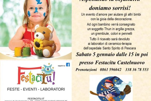 Evento-Thun-Castelnuovo-Vomano - Eventi per bambini in Abruzzo weekend 12 - 13 gennaio