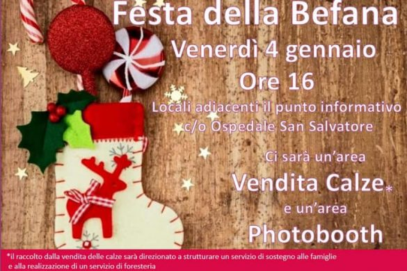 Festa-della-Befana-Ospedale-San-Salvatore-L'Aquila - Befana 2019 in Abruzzo