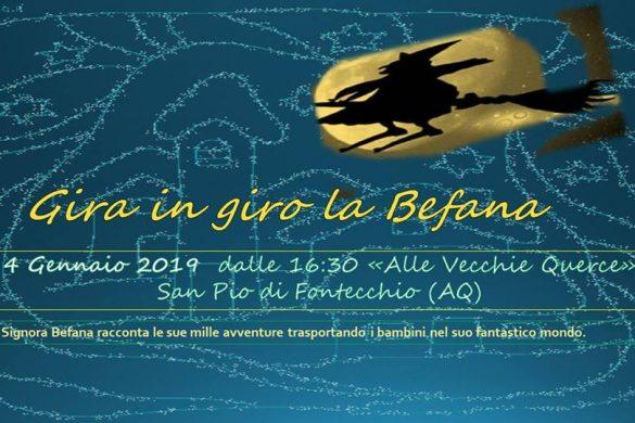 Gira-in-giro-la-Befana-San-Pio-di-Fontecchio-L'Aquila - Befana 2019 in Abruzzo