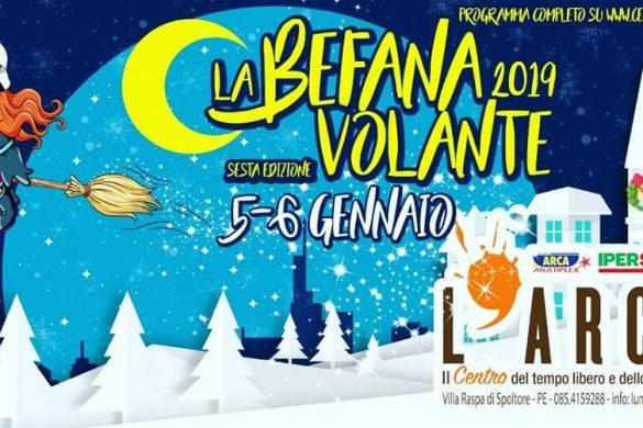 La-Befana-Volante-CC-LArca-Spoltore-Pescara - Befana 2019 in Abruzzo