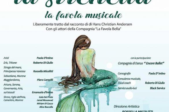 La-Sirenetta-Favola-Musicale-Pescara - Eventi per bambini in Abruzzo weekend 19-20 gennaio