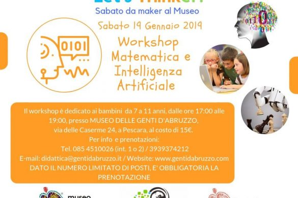 Laboratorio-Museo-delle-Genti-dAbruzzo-Pescara - Eventi per bambini in Abruzzo weekend 19-20 gennaio