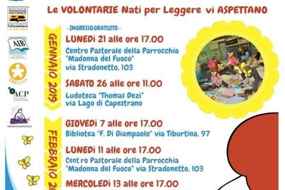 Letture-Nati-per-Leggere-Pescara - Eventi per bambini in Abruzzo weekend 25-27 gennaio 2019