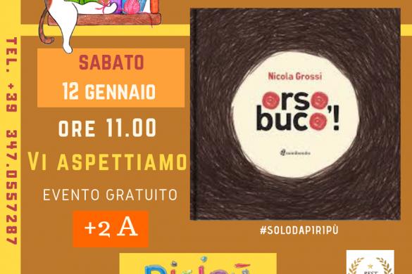 Letture-per-bambini-Piripù-L'Aquila - Eventi per bambini in Abruzzo weekend 12 - 13 gennaio