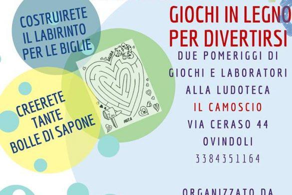 Museo-del-Gioco-Il-Camoscio-Ovindoli-L'Aquila - Eventi per bambini in Abruzzo weekend 25-27 gennaio ore 16