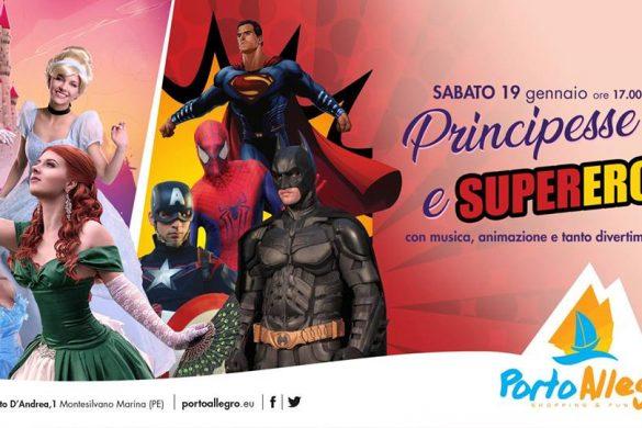 Principesse-e-Supereroi-CC-Porto-Allegro-Montesilvano-Pescara