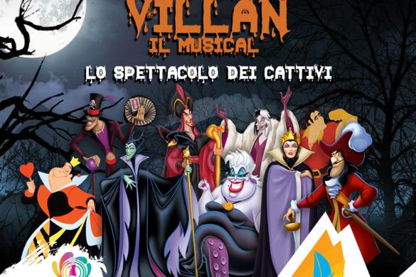 The-Villan-Musical-Porto-Allegro-Montesilvano-Pescara - Eventi per bambini in Abruzzo weekend 25-27 gennaio 2019