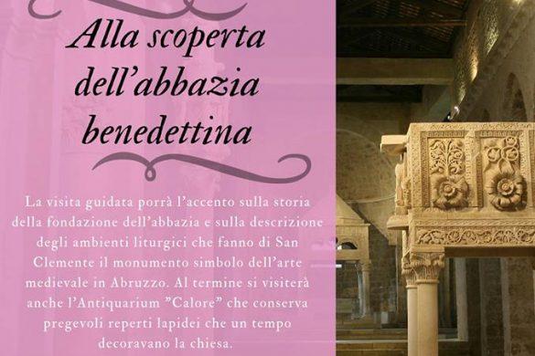 Visita-Guidata-Abbazia-Benedettina-Dadabruzzo-Castiglione-a-Casauria-Pescara - Eventi per bambini in Abruzzo weekend 19-20 gennaio