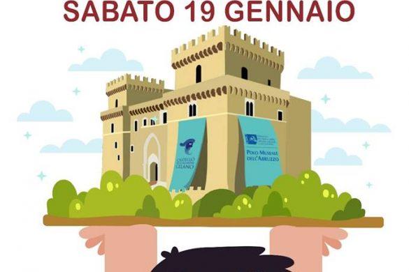 Visita-guidata-Castello-Piccolomini-Celano-L'Aquila - Eventi per bambini in Abruzzo weekend 19-20 gennaio