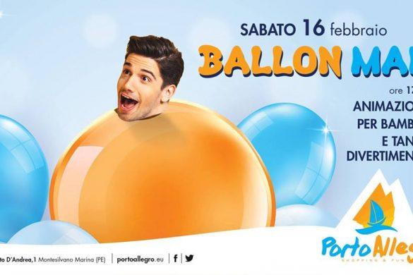 Ballon-Man-Centro-Commerciale-Porto-Allegro-Montesilvano-Pescara