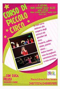 Corso di Piccolo Circo di Associazione A Piccoli Passi di Teramo