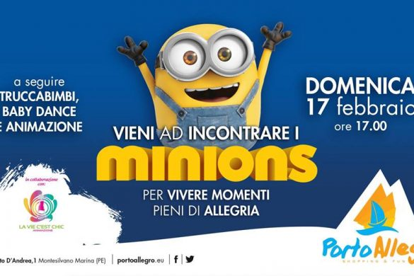 I-Minions-Centro-Commerciale-Porto-Allegro-Montesilvano-Pescara