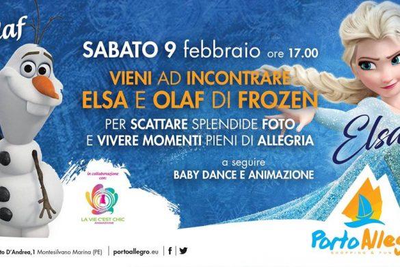 Incontro-con-Elsa-e-Olaf-di-Frozen-Centro-Commerciale-Porto-Allegro-Montesilvano-Pescara