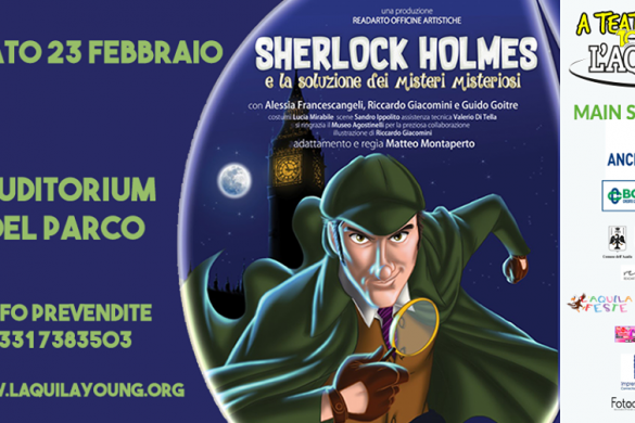 Sherlock-Holmes-Auditorium-del-Parco-LAquila
