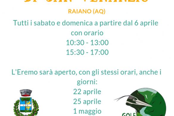 Apertura-Eremo-di-San-Venanzio-Raiano-LAquila