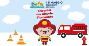 Diventa piccolo pompiere a Crescendo in Salute-BabyCity a Pescara