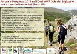 Pasqua-e-Pasquetta-2019-Oasi-WWf-Gole-del-Sagittario-Anversa-degli-Abruzzi-LAquila