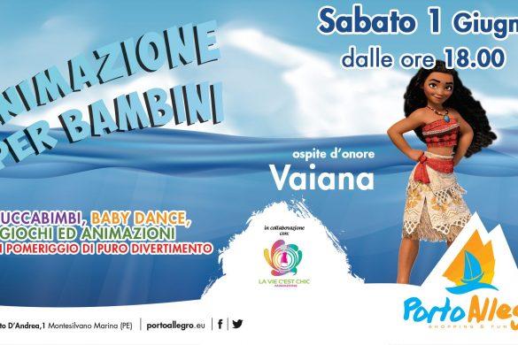 Animazione-per-bambini-con-Vaiana-Porto-Allegro-Montesilvano-Pescara