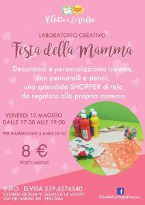Laboratorio-creativo-Festa-della-Mamma-Il-Gatto-e-la-Volpe-Pescara