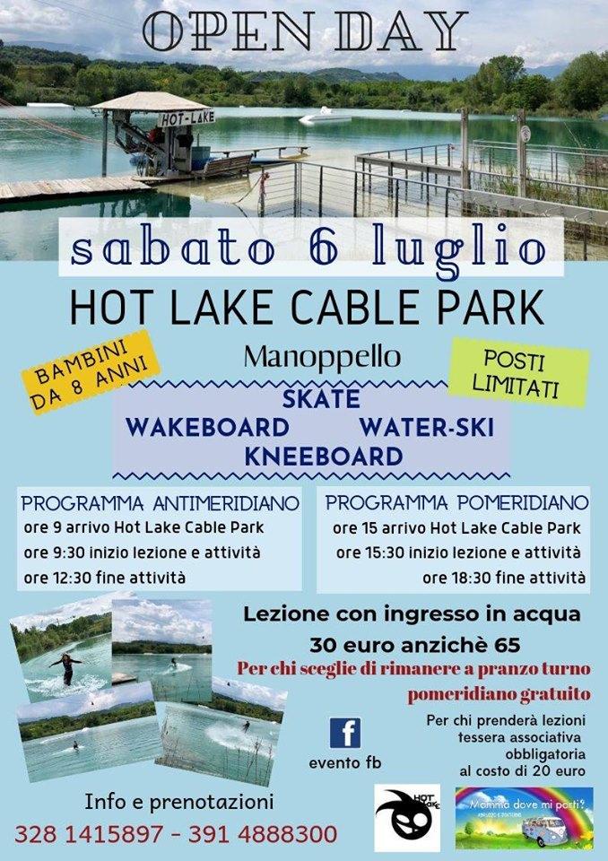 Open Day Hot Lake Cable Park a Manoppello di Pescara