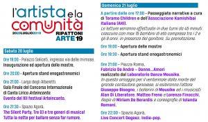Programma 20/21 luglio RipattoniArte 2019