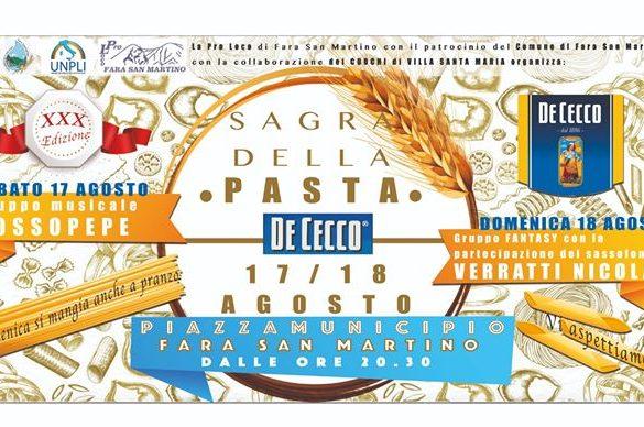 Sagra-della-Pasta-De-Cecco-2019-Fara-San-Martino-Chieti