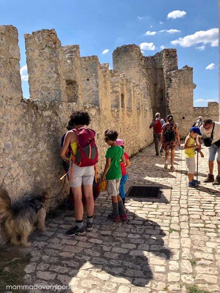 Piano inferiore del Castello di Rocca Calascio