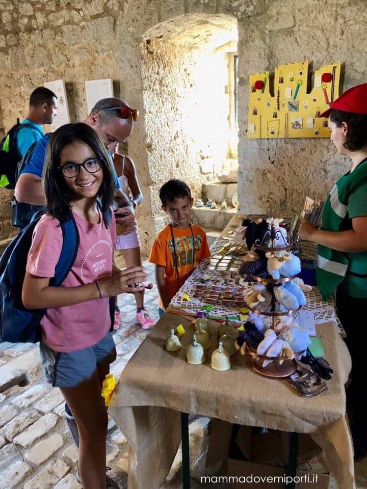 Interno del Castello a Rocca Calascio