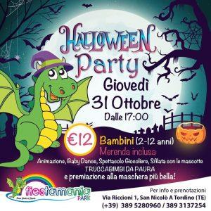 Halloween Party da Fiestamania Park a Teramo