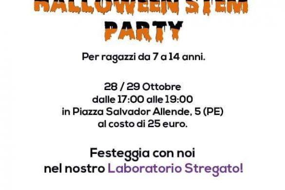 Halloween-Stem-Party-Stemlab-Pescara