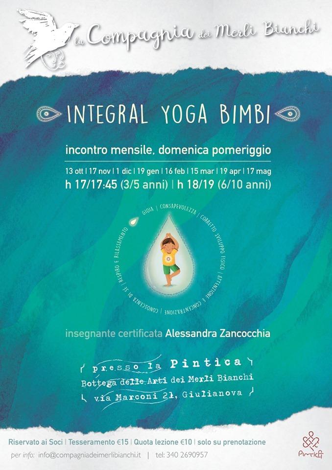 Integral Yoga Bimbi a Giulianova di Teramo