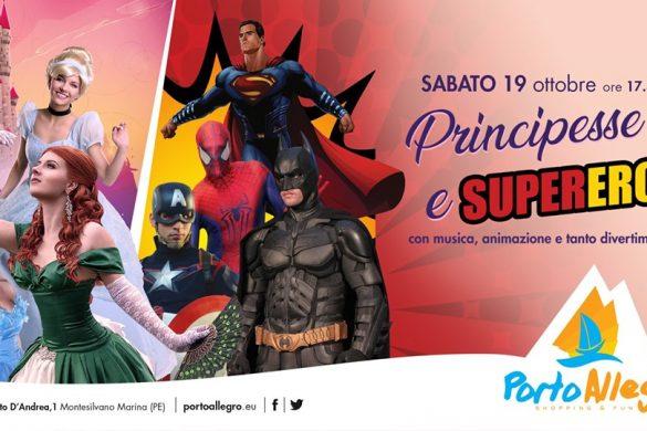 Principesse-e-supereroi-al-CC-Porto-Allegro-Montesivano-Pescara