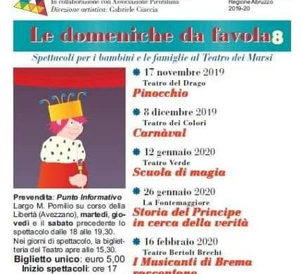 Le-Domeniche-da-Favola-Teatro-dei-Marsi-Avezzano-LAquila