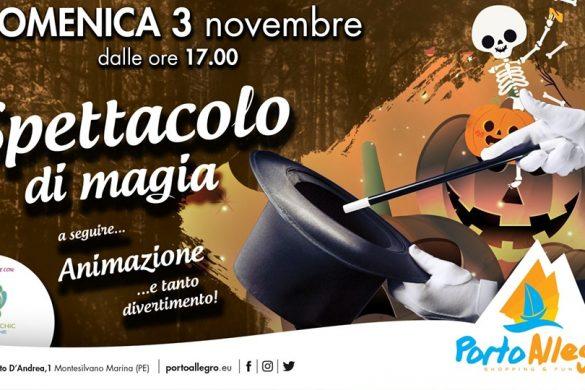 Spettacolo-di-magia-Centro-Commerciale-Porto-Allegro-Montesilvano-Pescara