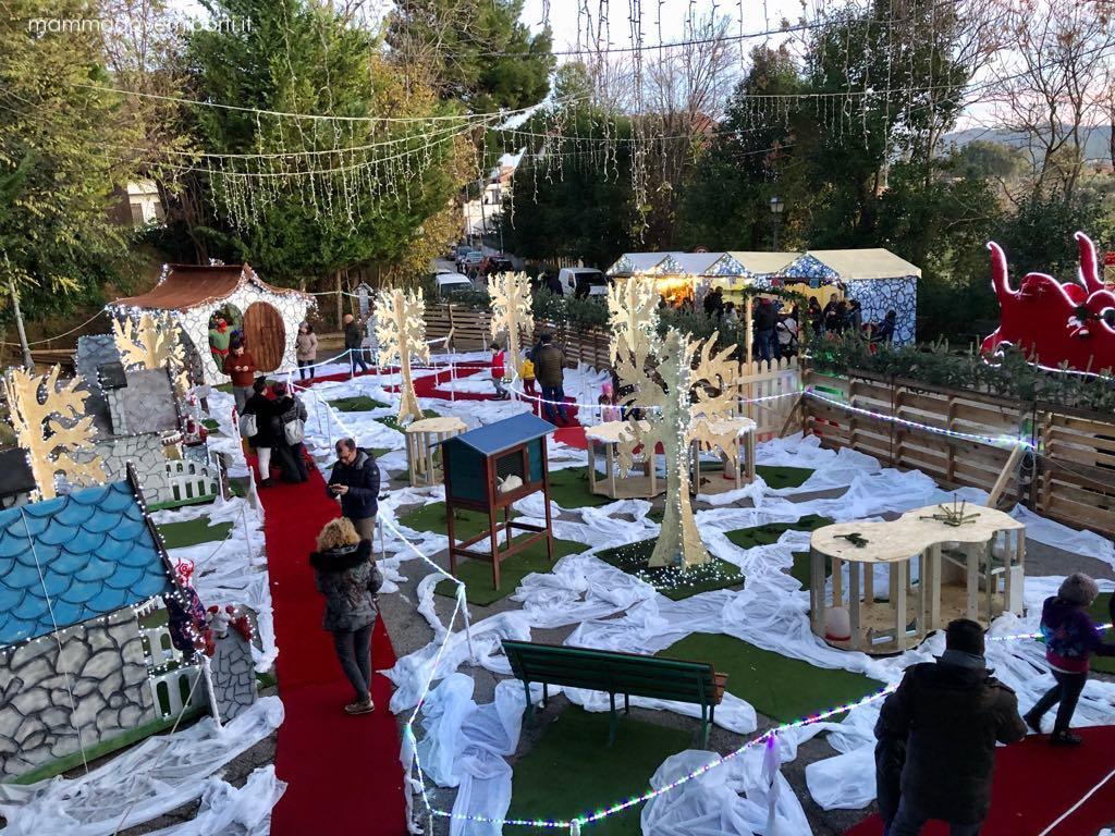 Villaggio degli Elfi al Borgo di Babbo Natale a Ripattoni