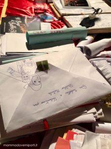 Letterine nella Casa di Babbo Natale al Borgo di Babbo Natale a Ripattoni