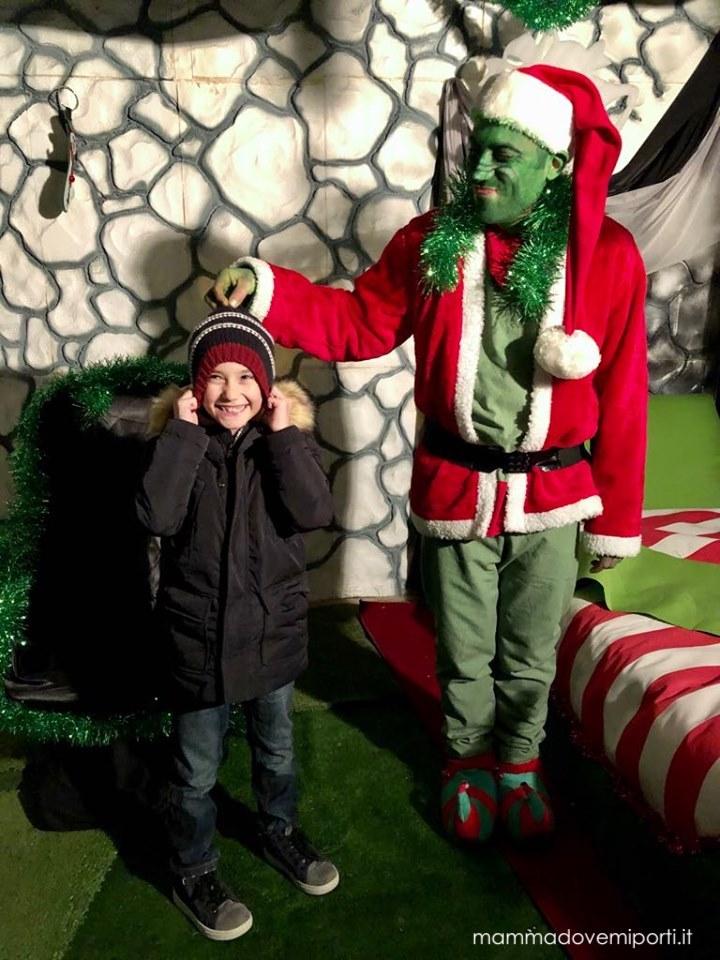 Il Grinch al Borgo di Babbo Natale di Ripattoni