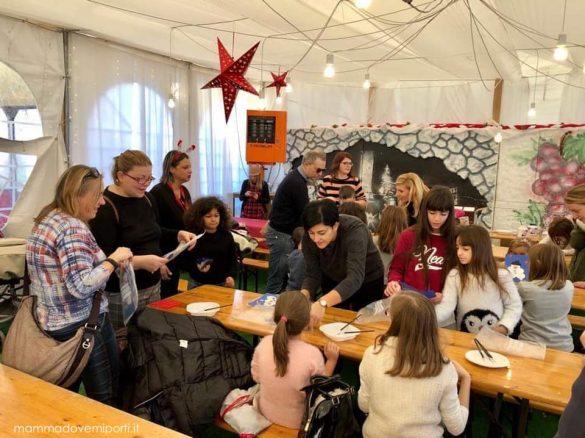 Laboratori creativi al Borgo di Babbo Natale a Ripattoni