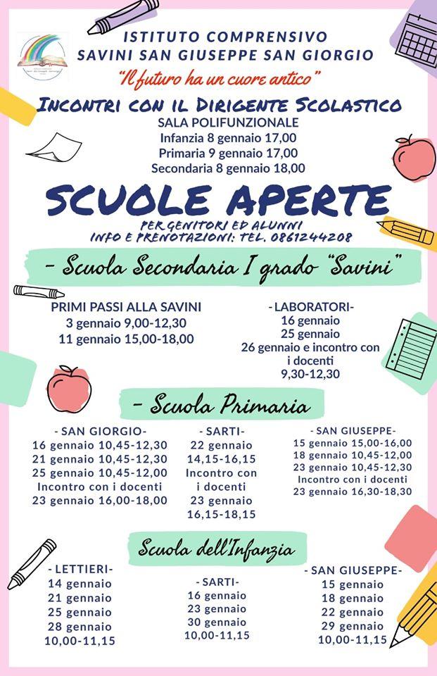 open-day-scuole-teramo-2020-istituto-comprensivo-savini-san-giuseppe-san-giorgio