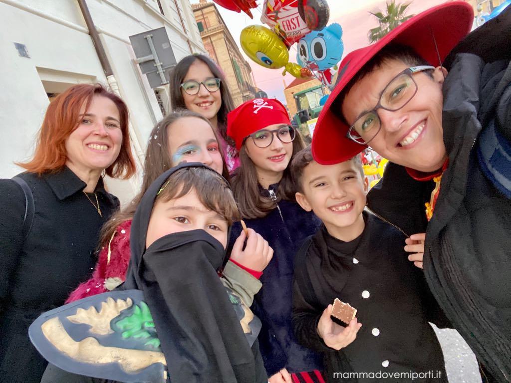 Carnevale Giuliese tutti in maschera, anche noi