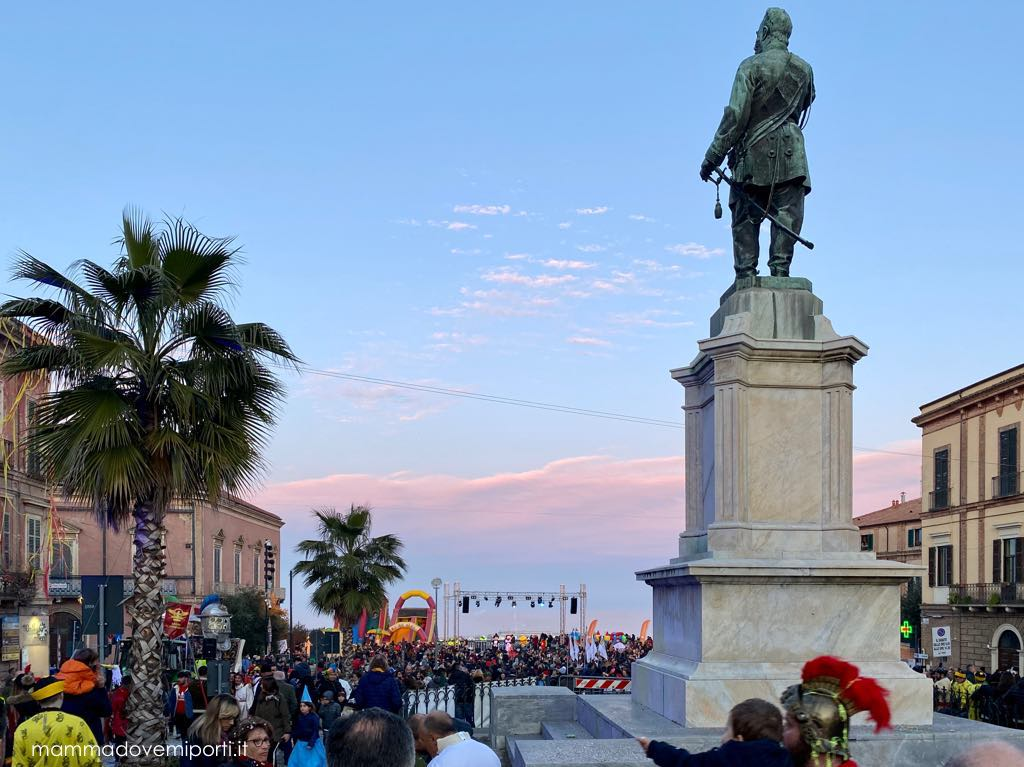Carnevale Giuliese panoramica