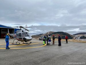 eliciaspolata a roccaraso con elicottero